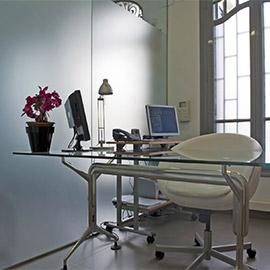 Consulta de ginecología de la Clínica Dalmases en Barcelona